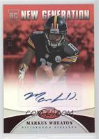 New Generation - Markus Wheaton #/49