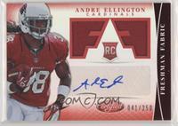 Freshman Fabric Signatures - Andre Ellington #/250