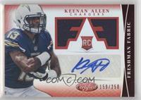 Freshman Fabric Signatures - Keenan Allen #/250
