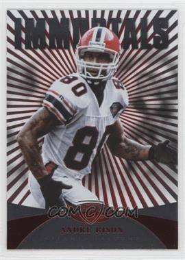 2013 Panini Certified - [Base] - Platinum Red #151 - Immortals - Andre Rison