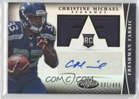 Freshman Fabric Signatures - Christine Michael /499