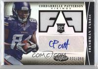 Freshman Fabric Signatures - Cordarrelle Patterson /399
