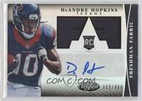 Freshman Fabric Signatures - DeAndre Hopkins /499