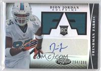Freshman Fabric Signatures - Dion Jordan /399