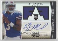 Freshman Fabric Signatures - EJ Manuel #/399