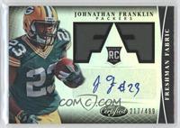 Freshman Fabric Signatures - Johnathan Franklin /499