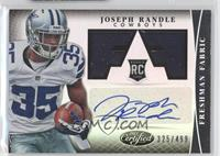 Freshman Fabric Signatures - Joseph Randle /499
