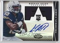 Freshman Fabric Signatures - Keenan Allen /499