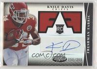 Freshman Fabric Signatures - Knile Davis [EX to NM] #/399