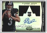 Freshman Fabric Signatures - Landry Jones #/499