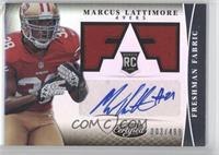 Freshman Fabric Signatures - Marcus Lattimore /499