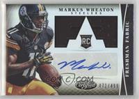 Freshman Fabric Signatures - Markus Wheaton #/499