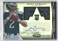 Freshman Fabric Signatures - Matt Barkley /399
