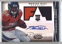 Freshman Fabric Signatures - Montee Ball /499