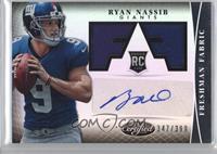 Freshman Fabric Signatures - Ryan Nassib /399