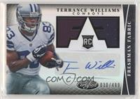 Freshman Fabric Signatures - Terrance Williams #/499
