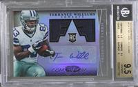 Freshman Fabric Signatures - Terrance Williams /499 [BGS 9.5]