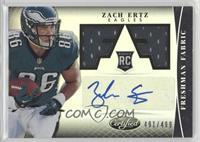 Freshman Fabric Signatures - Zach Ertz /499