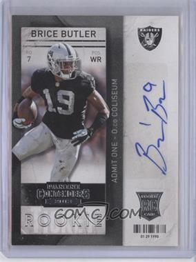 2013 Panini Contenders - [Base] - Short Print Rookies #112 - Brice Butler (with ball)