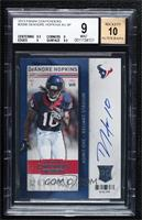DeAndre Hopkins [BGS 9 MINT]