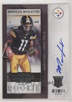 Markus Wheaton (ball at side) [EX to NM]