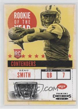 2013 Panini Contenders - Rookie of the Year Contenders #5 - Geno Smith