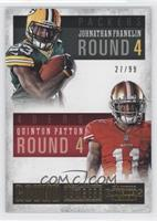 Quinton Patton, Johnathan Franklin /99
