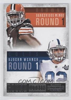 2013 Panini Contenders - Round Numbers #2 - Barkevious Mingo, Bjoern Werner