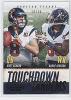 Andre Johnson, Matt Schaub /10