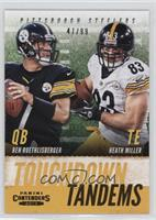 Ben Roethlisberger, Heath Miller /99