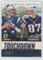 Tom Brady, Rob Gronkowski /99
