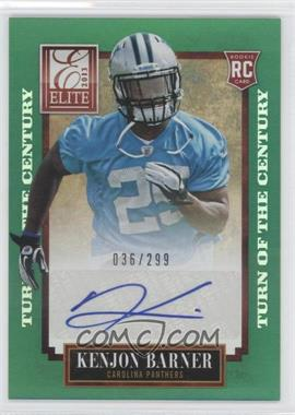 2013 Panini Elite - [Base] - Turn of the Century Rookie Signatures [Autographed] #150 - Kenjon Barner /299