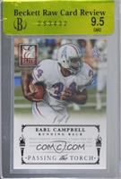 Adrian Peterson, Earl Campbell [BRCR 9.5] #/1