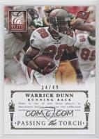 Warrick Dunn, Doug Martin /49