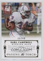 Adrian Peterson, Earl Campbell /49