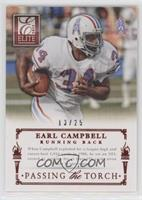 Adrian Peterson, Earl Campbell /25