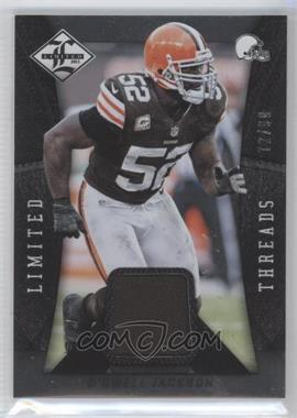 2013 Panini Limited - Limited Threads #29 - D'Qwell Jackson /99