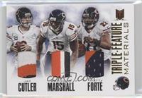 Brandon Marshall, Jay Cutler, Matt Forte /20