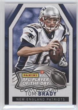 2013 Panini NFL Player of the Day - [Base] #1 - Tom Brady