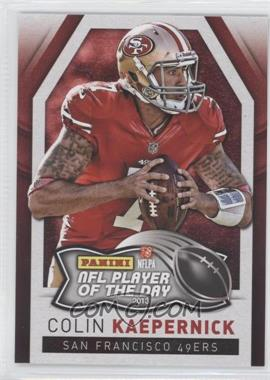 2013 Panini NFL Player of the Day - [Base] #5 - Colin Kaepernick