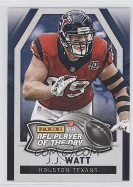 2013 Panini NFL Player of the Day - [Base] #7 - J.J. Watt
