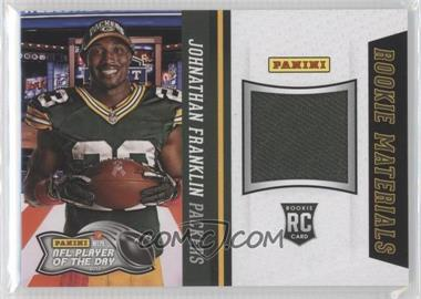 2013 Panini NFL Player of the Day - Rookie Materials #1 - Johnathan Franklin