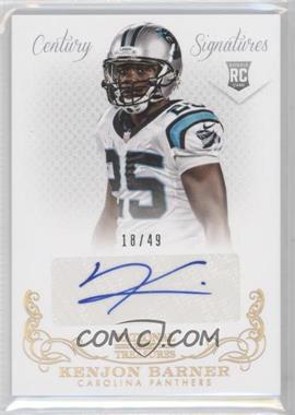 2013 Panini National Treasures - [Base] - Century Gold Signatures [Autographed] #295 - Kenjon Barner /49