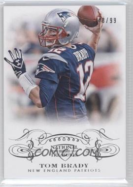 2013 Panini National Treasures - [Base] #62 - Tom Brady /99