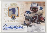 Curtis Martin [EX to NM] #/25