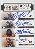 Montee Ball, Tavon Austin, Zach Ertz, DeAndre Hopkins, EJ Manuel, Geno Smith, G…