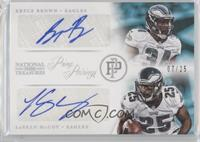 Bryce Brown, LeSean McCoy /25