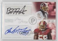 Brandon Meriweather, London Fletcher /14