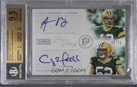 Clay Matthews, Aaron Rodgers /25 [BGS 9.5 GEM MINT]
