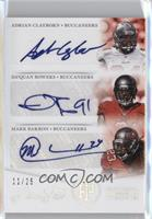 Mark Barron, Adrian Clayborn, Da'Quan Bowers /25